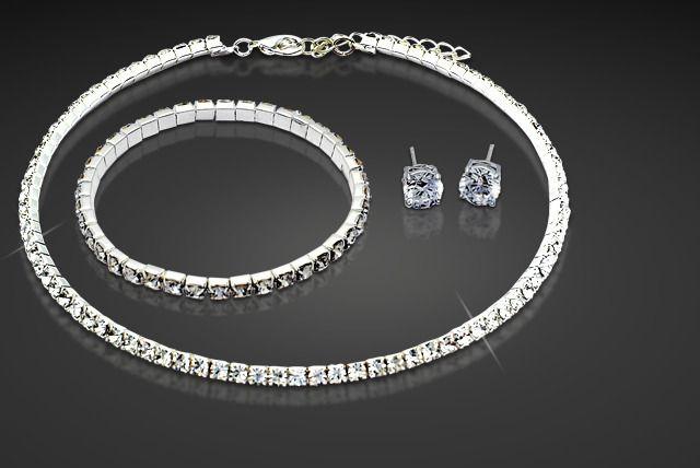 Swarovski Elements Crystal Tri Set