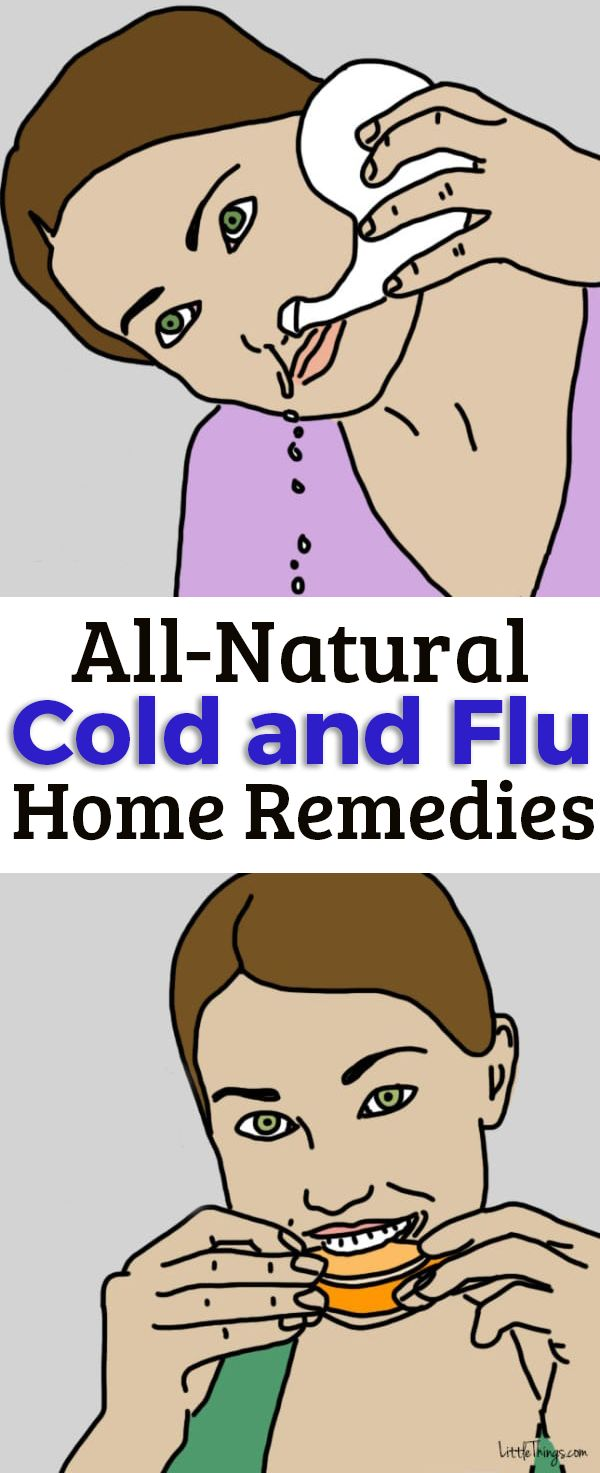 All-natural cold and flu remedies you can try at home.