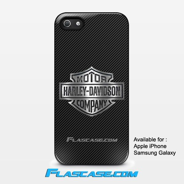 Harley Davidson Metal Logo Carbon Apple iPhone 4/4s 5/5s 5c 6 6 Plus Samsung Galaxy S3 S4 S5 S6 S6 EDGE Hard Case