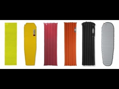 ▶ Sleeping Pad Types - The Outdoor Gear Review - YouTube