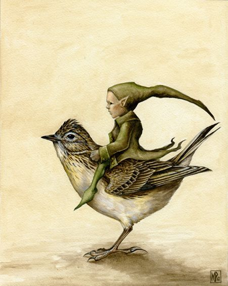 ≍ Nature's Fairy Nymphs ≍ magical elves, sprites, pixies and winged woodland faeries - Skylark & Pixie ~ Marc Potts