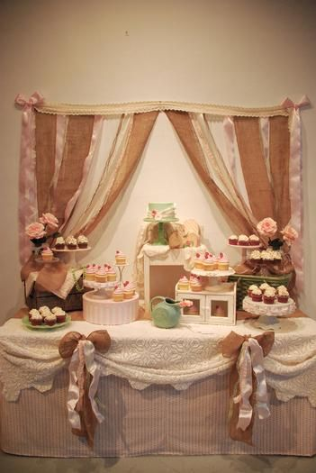 Hostess With The Mostess 174 Rustic Shabby Chic Cupcake