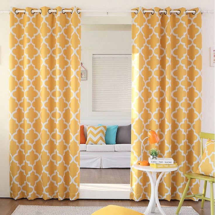 20 Chic Interior Designs With Yellow Curtains: Best 25+ Yellow Curtains Ideas On Pinterest