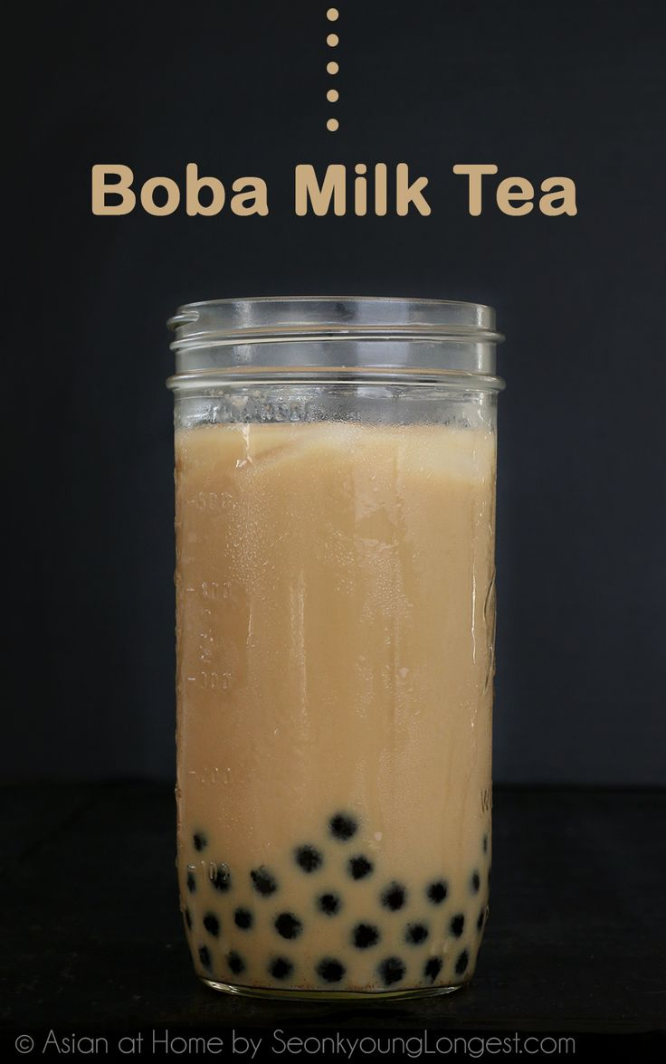 Milk tea is very classic for boba tea (bubble tea).  Boba is simply tapioca pears, nicely chewy texture and very fun to eat! You can use espresso or matcha green tea instead of black tea, would be very delicious!  Homemade boba tea's beauty is you have 100% control of sweetness, strongness of tea/coffee and it...Read More »