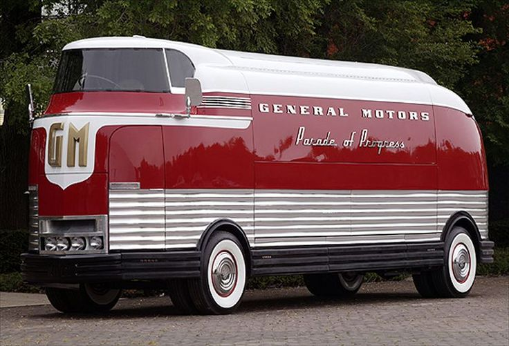 1953 GMC Futureliner - This GM Futurliner, which was restored by a volunteer group in Zeeland, to Washington D.C. where it will be added to the newly created National Historic Vehicle Register.