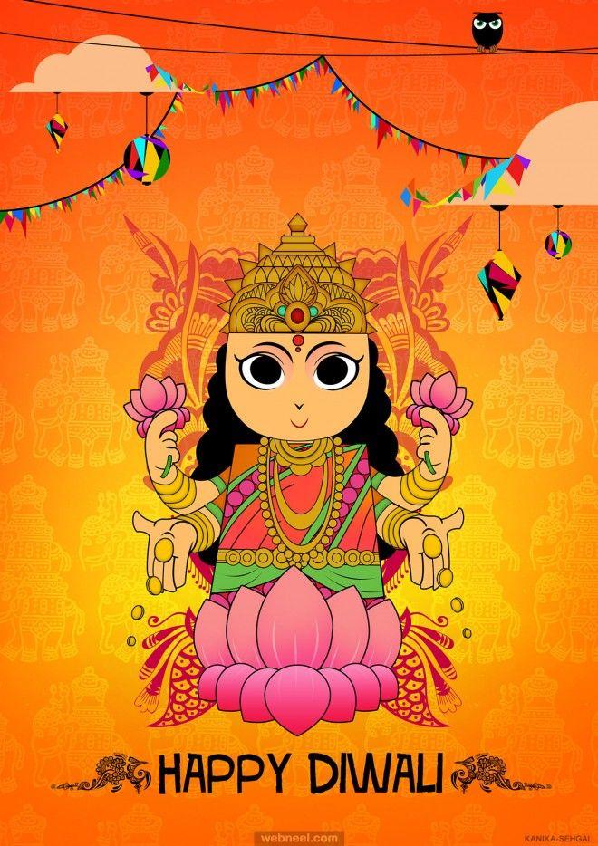 diwali greeting cards by kanika sehgal