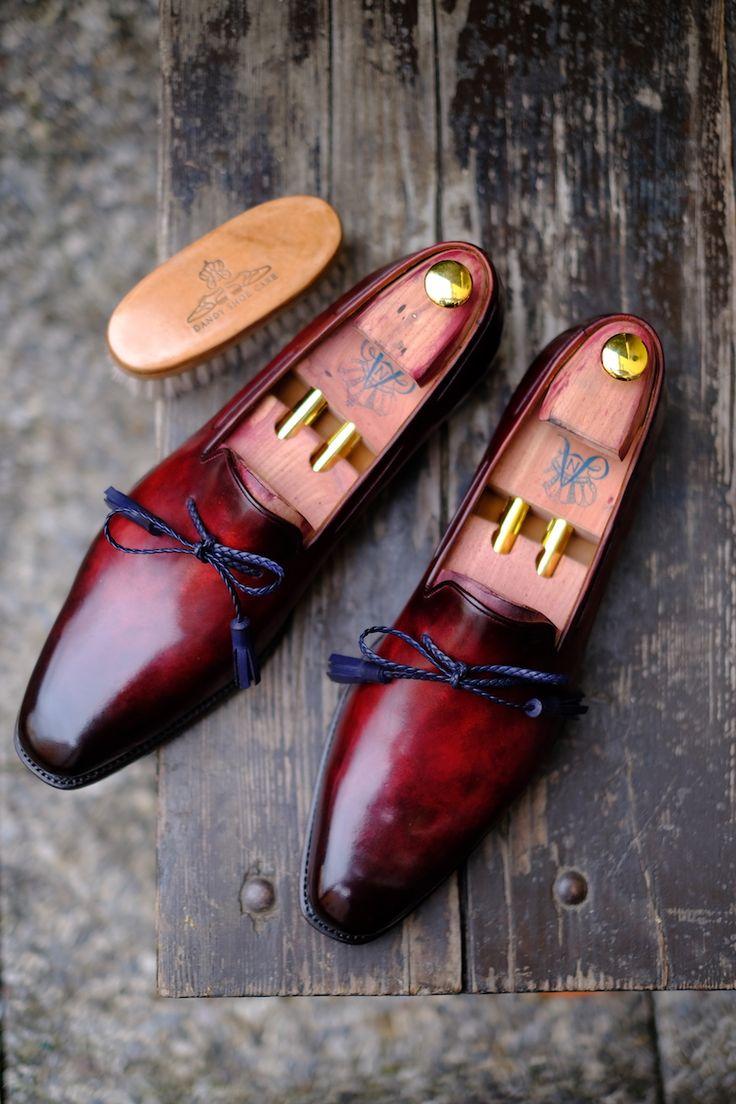 Beautiful Shoes + most extraordinary Artist of Patina = Great Work of Art Ed Et Al + Alexander Nurulaeff