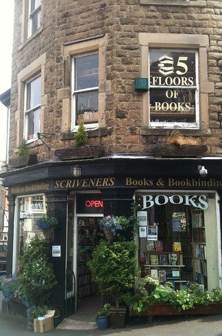 Scrivener's Books, Buxton | 19 Magical Bookshops Every Book Lover Must Visit