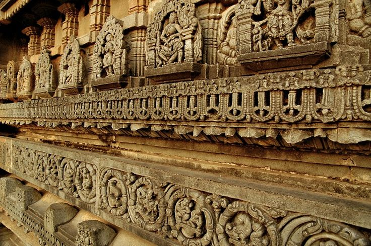 The Walls of Art at the Chennakesava temple, Belur. One of the magnificent example of Hoysala architecture