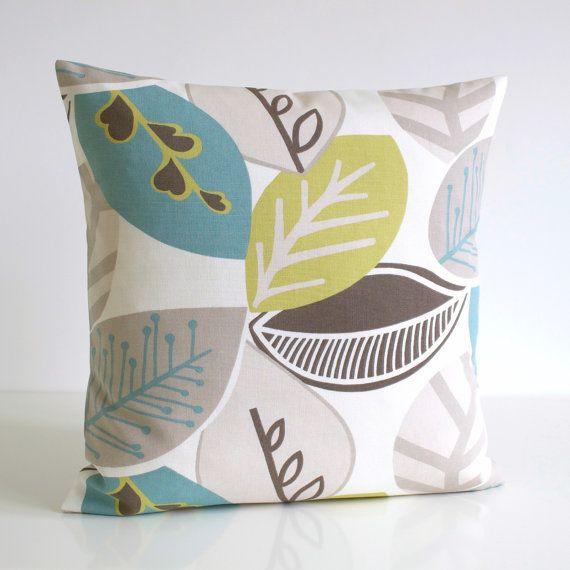 Green Cushion Cover Scandinavian Pillow Sham Pillow Cover