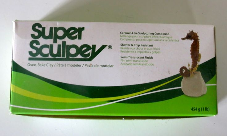 Super Sculpey Ceramic-Like Oven bake sculpting and modeling clay