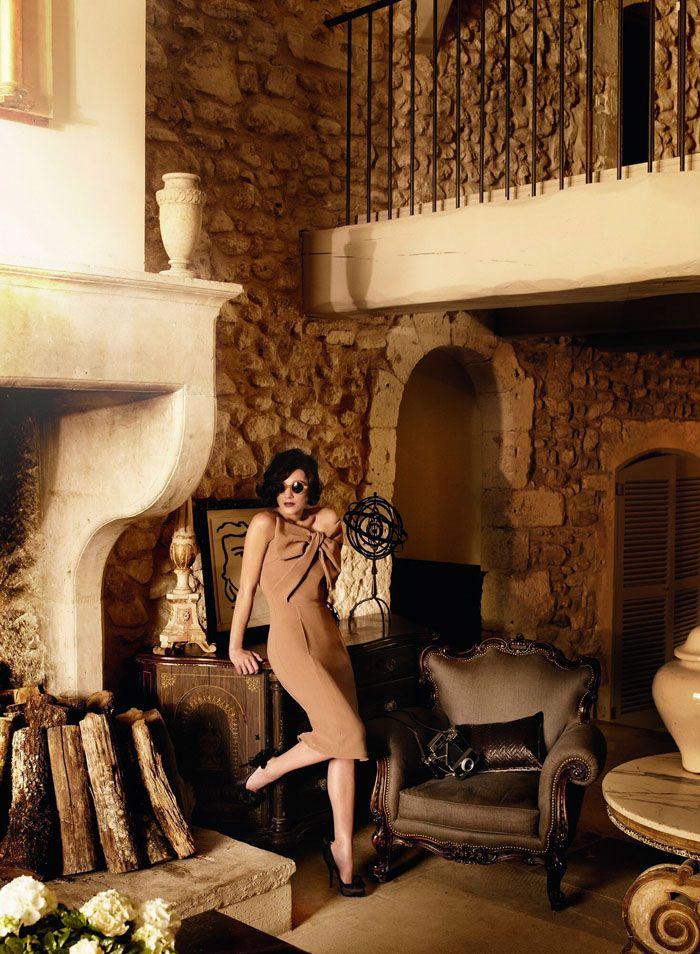 Марион Котийяр (Marion Cotillard) в фотосессии Марио Тестино (Mario Testino) для журнала Vogue US (июль 2010), фото 5