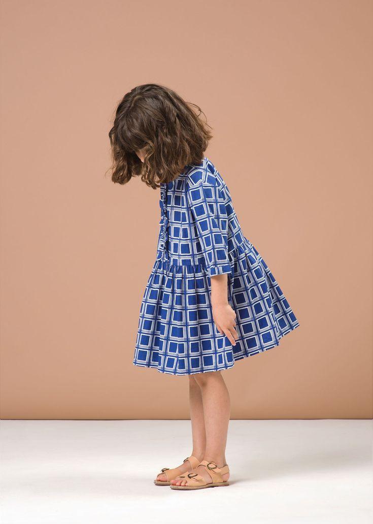 SS'16 Juniper Dress, Poseidon Square, Caramel Baby & Child.