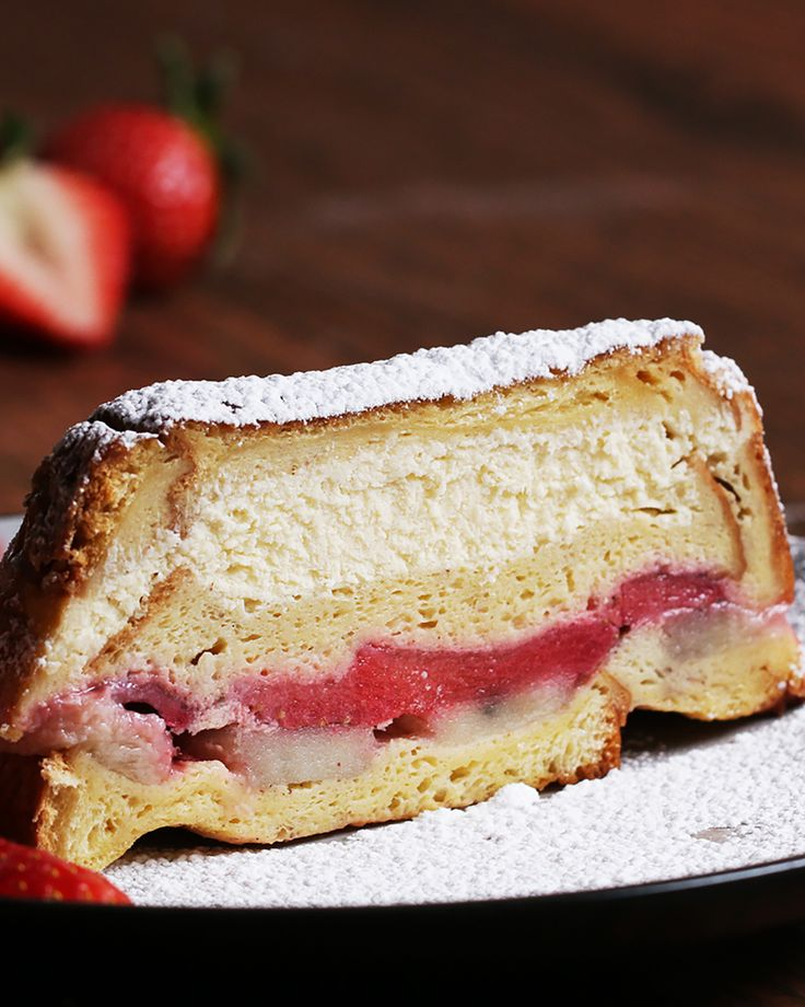 Stuffed French Toast Loaf Recipe by Tasty