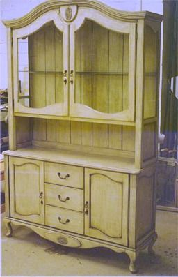 French Country Hutch Cutom Made For A Small Dining Room Maple Soilds And A Distress Finish Make This Piece A Truely One Of A Kind
