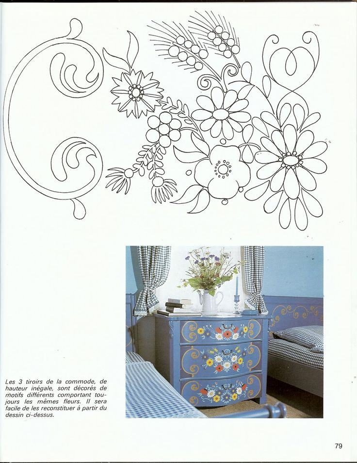 Painted Furniture, Folk Art, Handicraft, Beadwork, Ph, Decoupage,  Decorative Painting, Furniture, Crafts