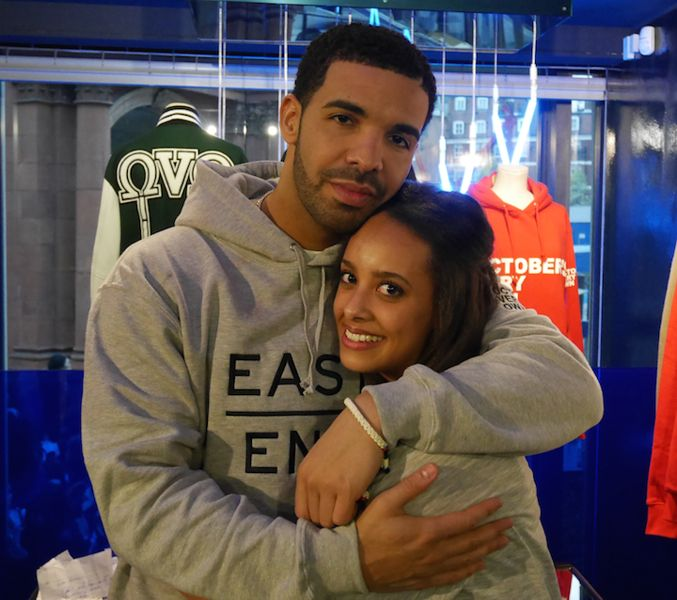 The day I met Aubrey drake graham. #drake #drizzy #ovo #champagnepapi #dreamcometrue . He is one of the humblest down to earth guy I have ever met plus he's my idol and I'm such a big fan! Ashleigh ❤️
