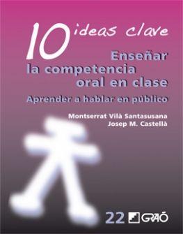 Montserrat Vilà y Josep M. Castellà. Enseñar la competencia oral en clase. CAC 800.8 VIL die