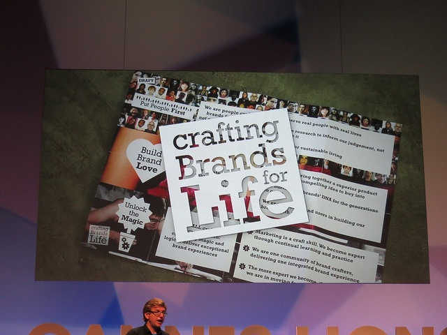 Crafting Brands for Life - Unilever #CannesLions 2012 by mrjessedee, via Flickr