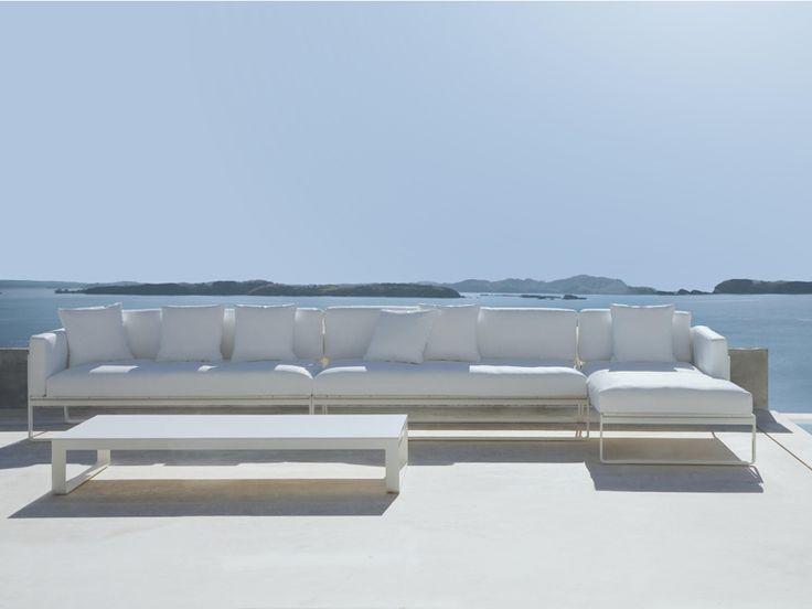 FLAT MODULAR 4 Garden Sofa By GANDIA BLASCO Design Mario Ruiz · Urban  Garden DesignModern Outdoor FurnitureMetal ...