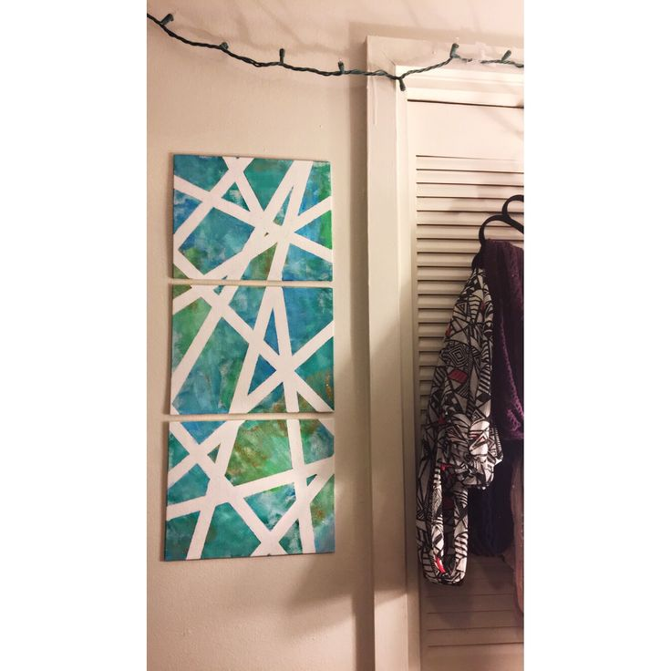 Multiple canvas painting