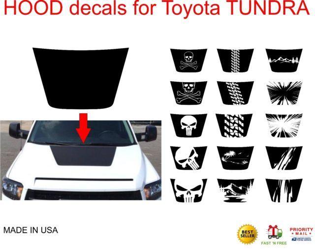Toyota Tundra TRD Sport Decal Emblem Sticker Kit Genuine OE OEM