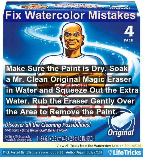 64 best images about art hacks tricks and tips on for Watercolour tips and tricks