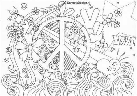 Image Result For Peace Coloring Pages Adult Color Pinterest