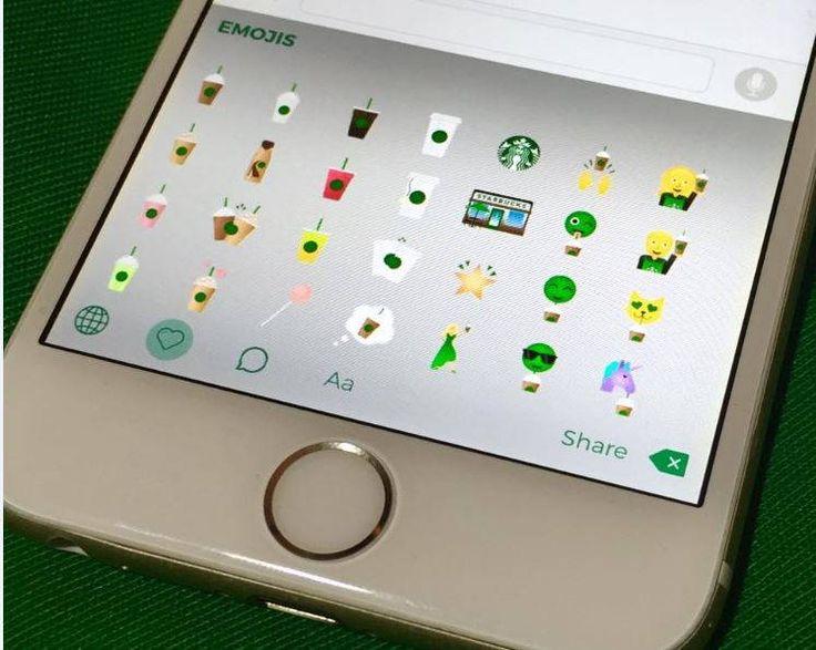 Starbucks Launches Their Own Standalone Emoji Keyboard App