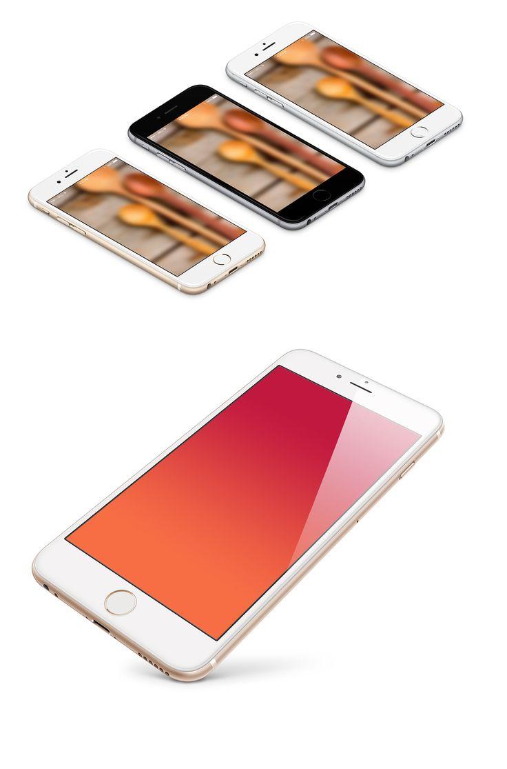 iPhone Mockup - Free PSD on Behance