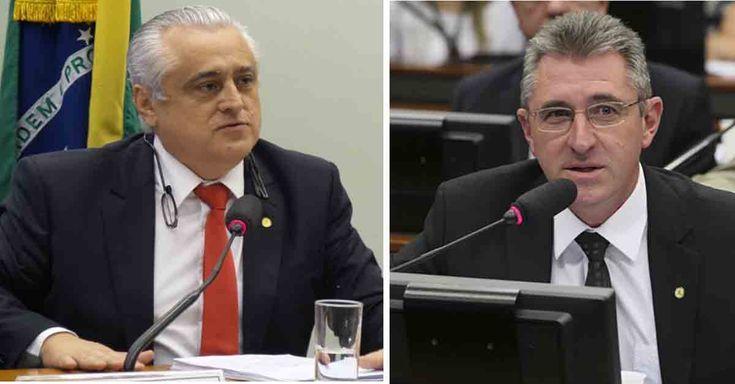 deputados Odorico Monteiro (PSB/CE) e Heitor Schuch (PSB-RS) Deputados querem acabar com as aposentadorias e isentar de impostos empresas de telefonia