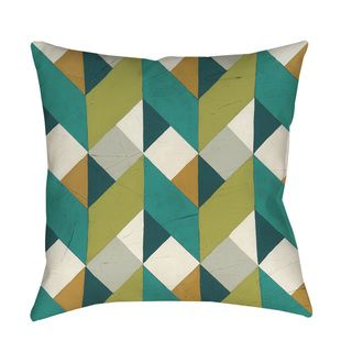 Thumbprintz Chevron Illusion II Indoor/ Outdoor Throw Pillow