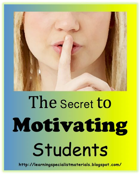 Come learn how to motivate your students!