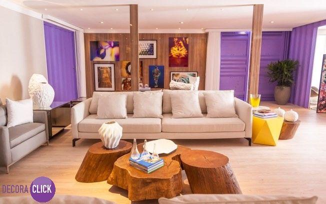 Decoração de Interiores – Salas de Estar Numa Casa Container, um