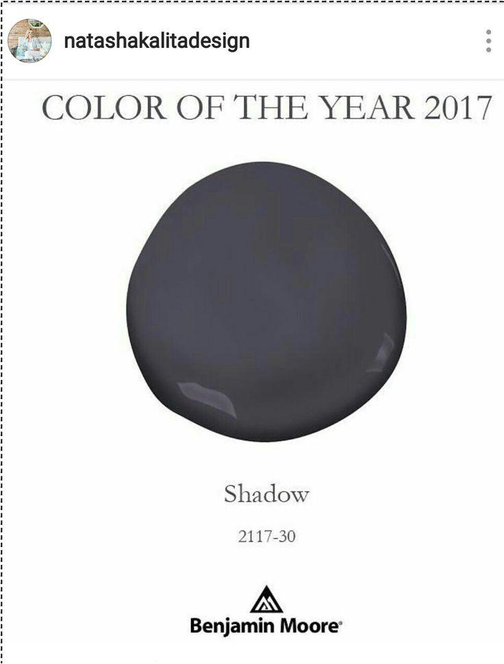 8 Best Benjamin Moore 2017 Color Of The Year Shadow