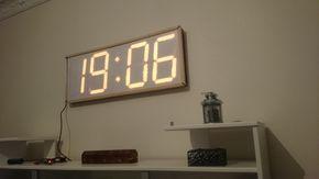 Tuto Arduino, Technologie - Grande horloge numérique avec télécommande IR