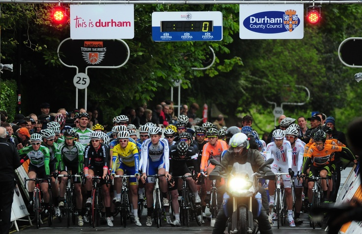 The thrills and spills of competitive cycling will once again return to the streets of Durham City when the professional cycling Tour Series arrives in town for the fourth year. During the Tour Series, cyclists will compete across a number of rural and city centre courses, including Durham.