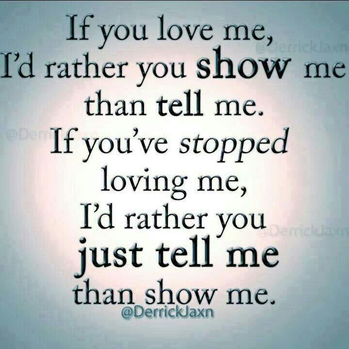 If You Dont Really Love Me Quotes Archidev