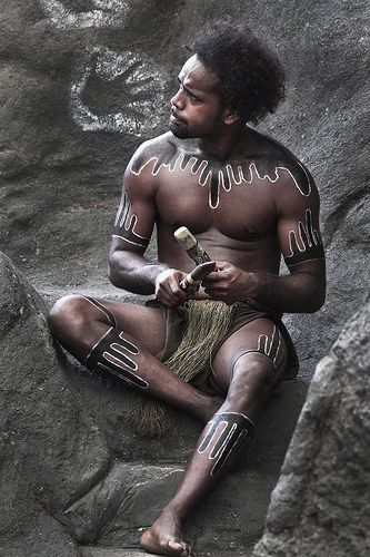 Australia - Aboriginal Culture (body painting/tribal skin art, etc)