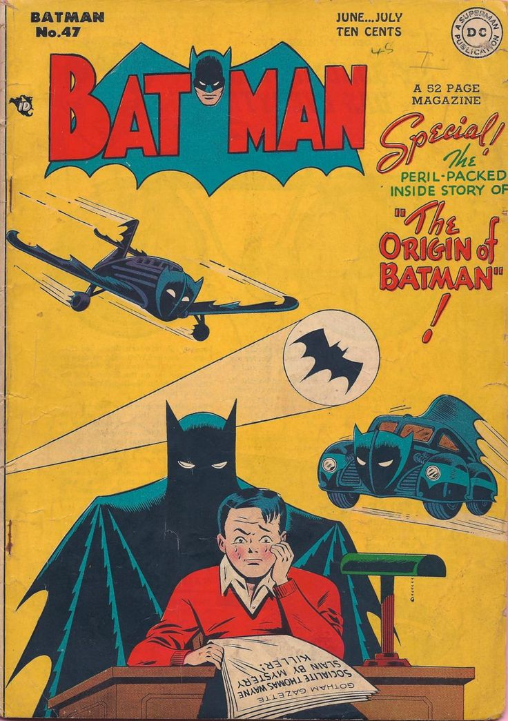 Batman #47  Auction your comics on http://www.comicbazaar.co.uk