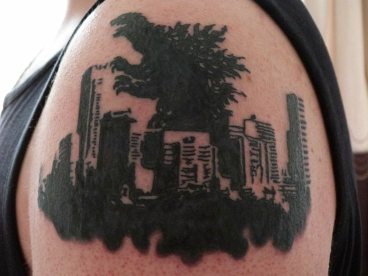 8 best images about godzilla tattoos on pinterest beast mode foxes and popular. Black Bedroom Furniture Sets. Home Design Ideas