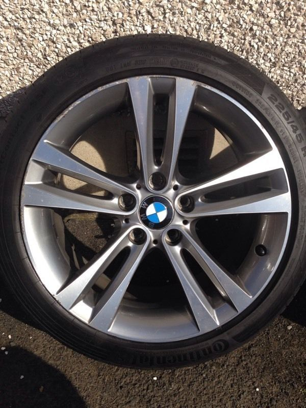Bmw F30 Alloy Wheels 18 Inch Alloys Reduced In Price With Bmw And 86
