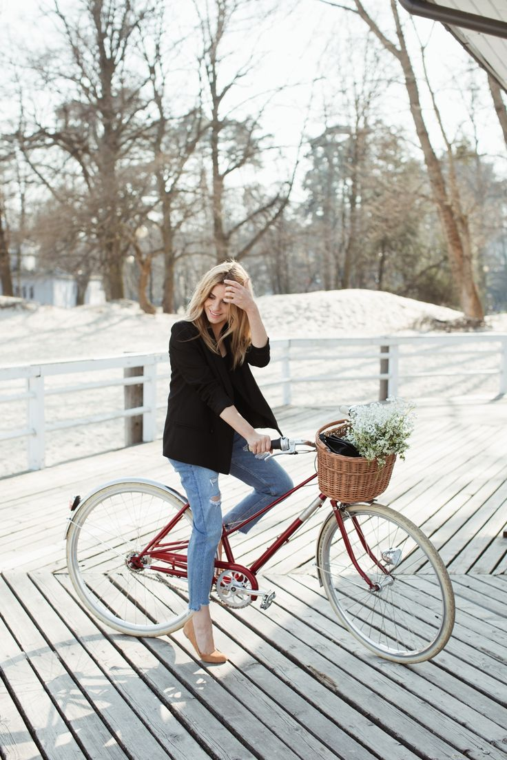 Look of The Day – My first cycle day this year | Make Life Easier
