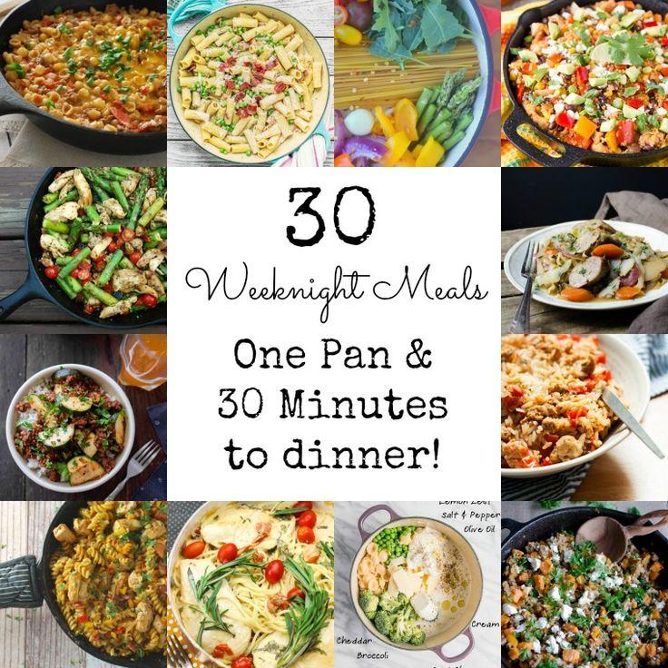 30 Meals that take 30 Minutes via @GingeredWhisk