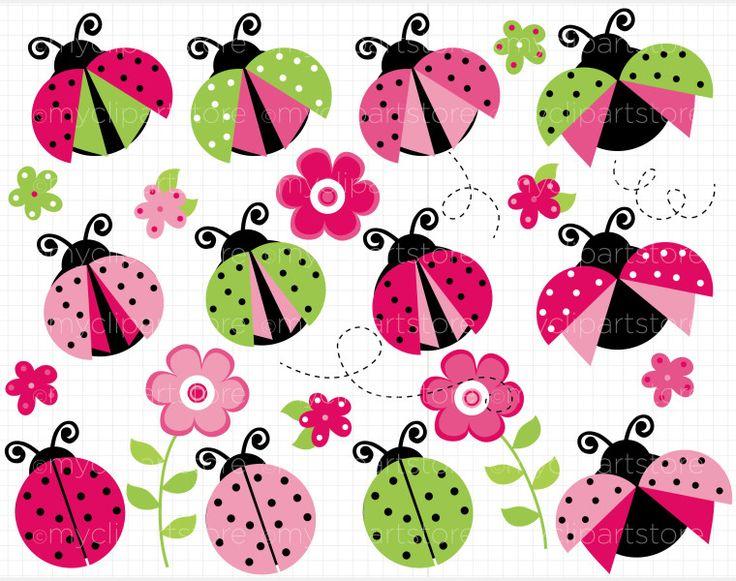 pink-and-green-ladybug-clipart-1.jpg (760×600)