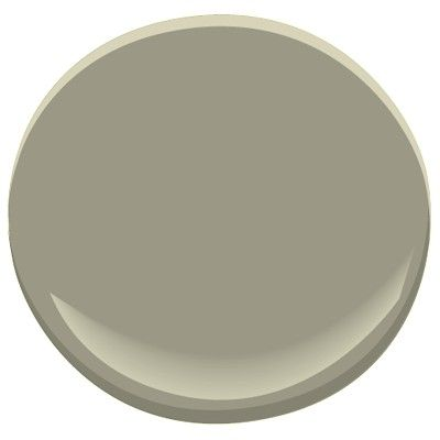 Benjamin Moore Creekside Green, richly saturated shade, gray undertones, calm, comfortable, relaxing. A Candice Olson designer color pick.