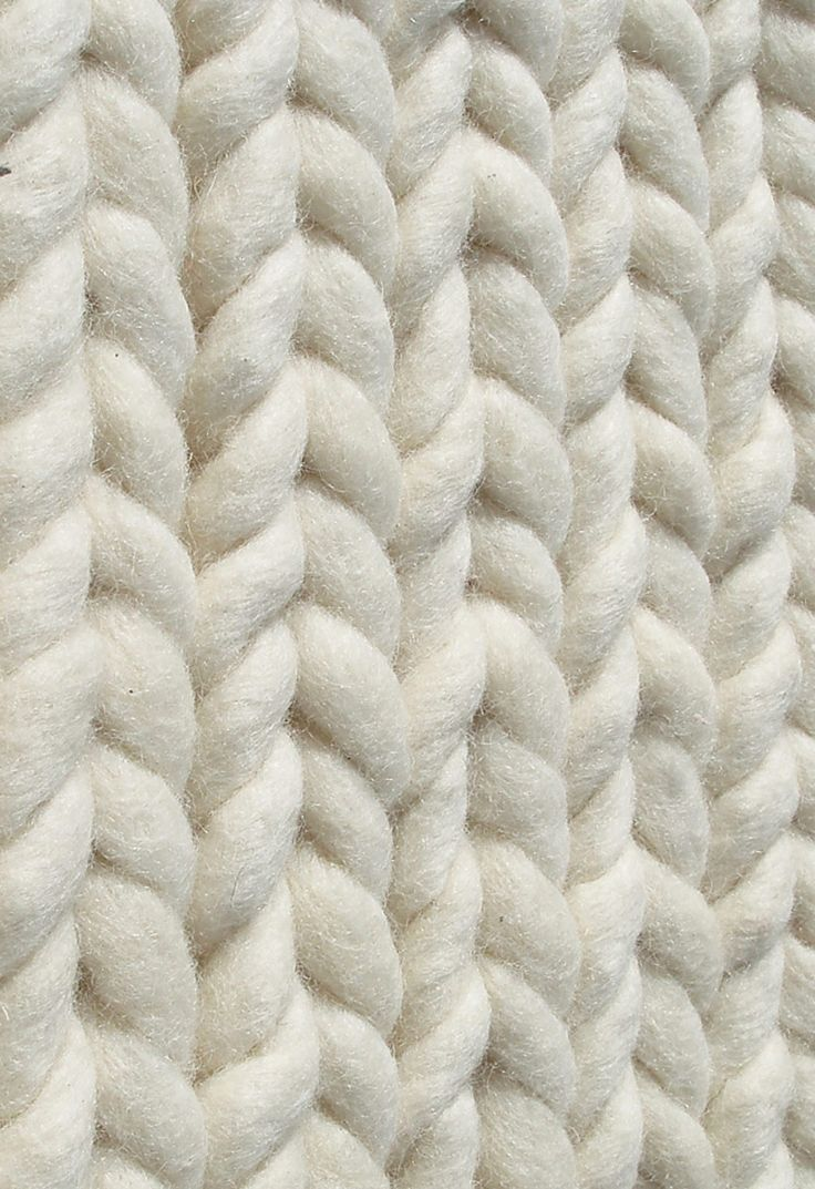 Braided Wool 3D Textile Design With Chunky Textures