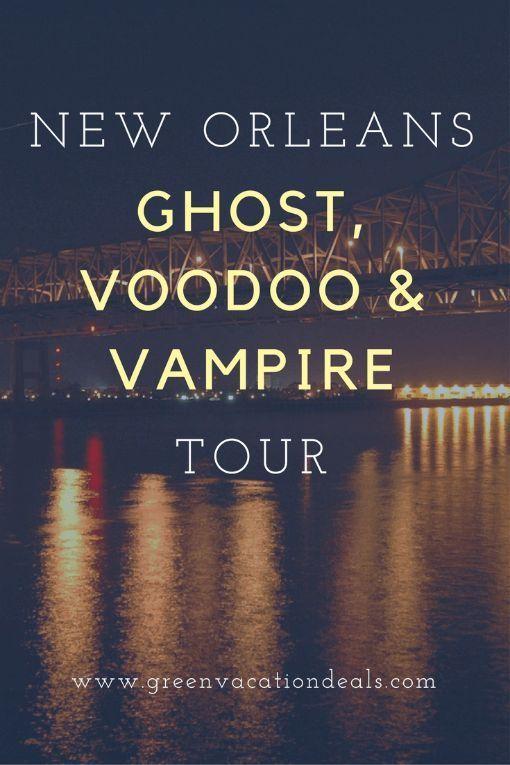 Savings On New Orleans Ghost, Voodoo & Vampire Tour
