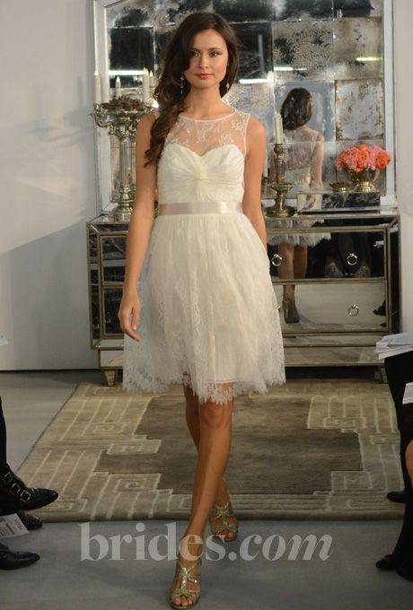 So pretty. Encore by Watters Fall 2013 (reception dress collection)
