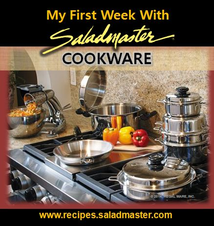 New to #Waterless Cooking? To get started, here's some #Saladmaster #Cookware tips | For more, check out www.recipes.saladmaster.com #316ti #Titanium #StainlessSteel #LifetimeWarranty #MadeinAmerica